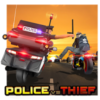Police vs Thief MotoAttack [Мод: много денег]