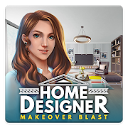 Home Designer - Match + Blast to Design a Makeover v 1.3.0 Мод (Many Lives)
